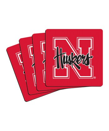 Nebraska Neoprene Coaster - Set of Four