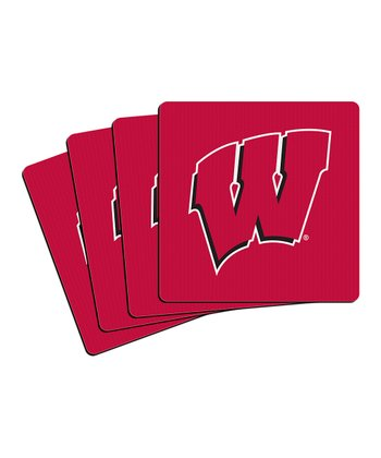 Wisconsin Neoprene Coaster - Set of Four