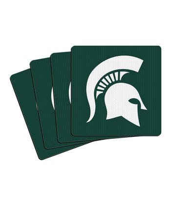 Michigan State Neoprene Coaster - Set of Four