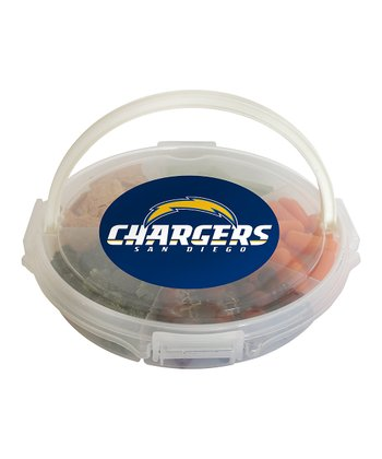 San Diego Chargers Food Caddy