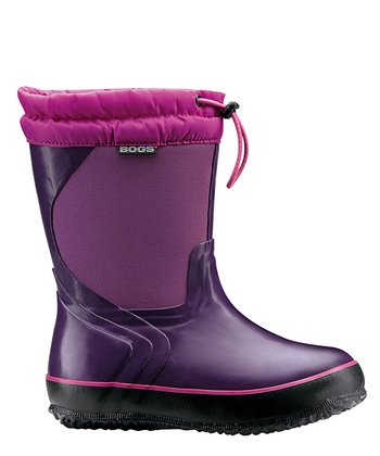 Purple McKinley Rain Boot - Kids