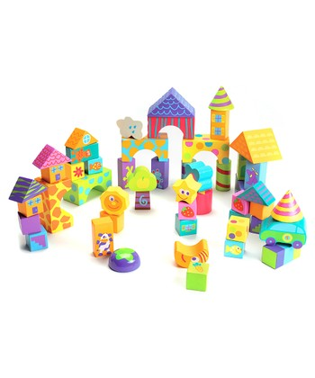50-Piece Building Block Set