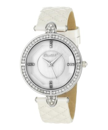White Lola Quilted Watch