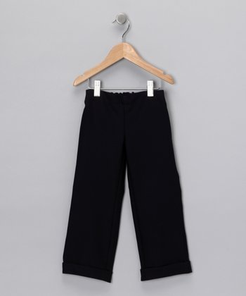 Navy Blue Preppy Pants - Toddler & Boys