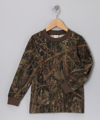 Conceal Green Camouflage Long-Sleeve Tee - Infant, Toddler & Kids
