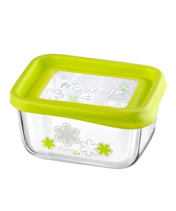 Green 13.5-Oz. Rectangle Storage Container
