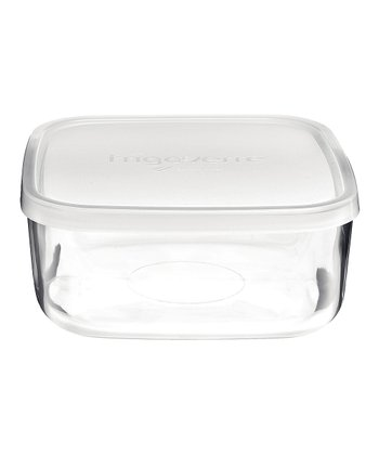 Frosted Frigoverre 5-Oz. Rectangle Container