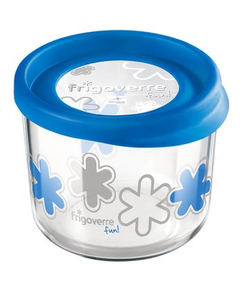 Blue 23.75-Oz. Round Storage Container