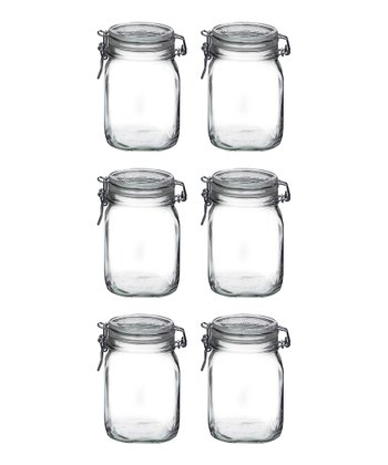 Fido 33.75-Oz. Canning Jar - Set of Six