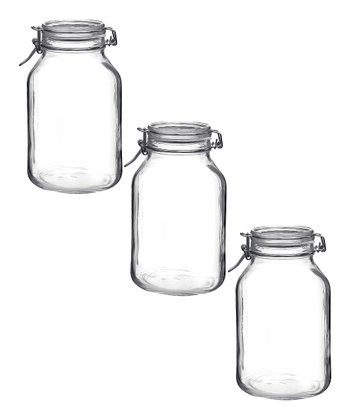 Fido 101.5-Oz. Jar - Set of Three