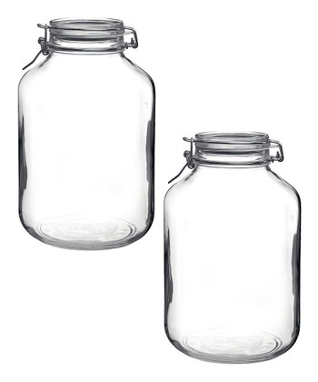 Fido 169-Oz. Canning Jar - Set of Two