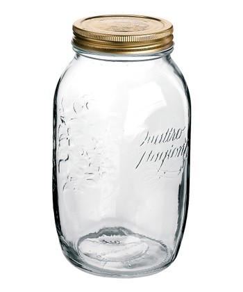 Quattro Stagioni 50.75-Oz. Canning Jar - Set of Six