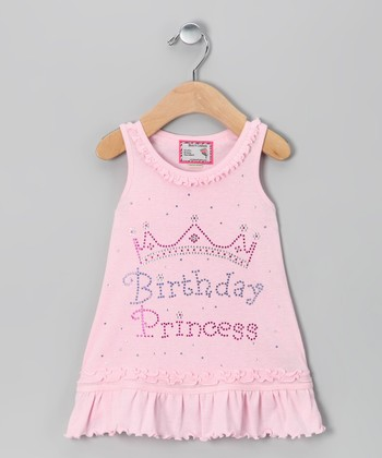 Baby Pink 'Birthday Princess' Dress - Infant, Toddler & Girls