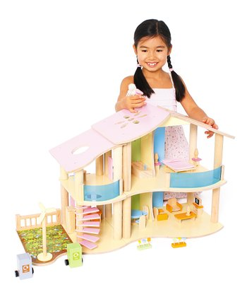 Two-Story Eco Dollhouse