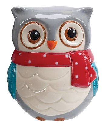 Boston Warehouse Snowy Owls Scrubby Holder