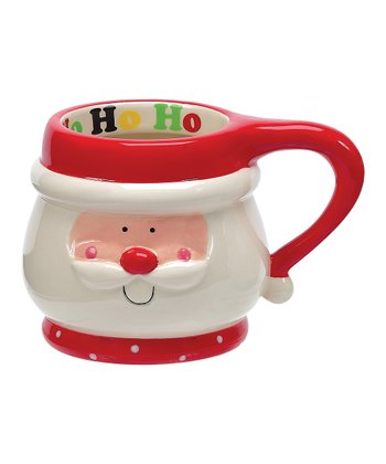 Holly Jolly Santa 16-Oz. Mug