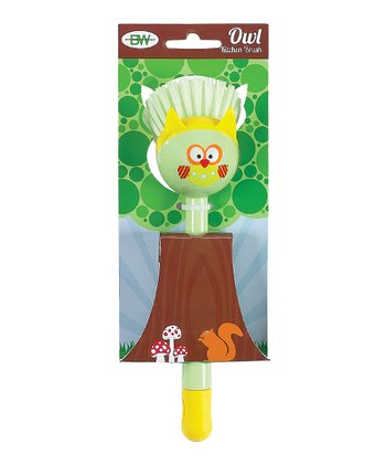 Green Owl Kitchen Brush