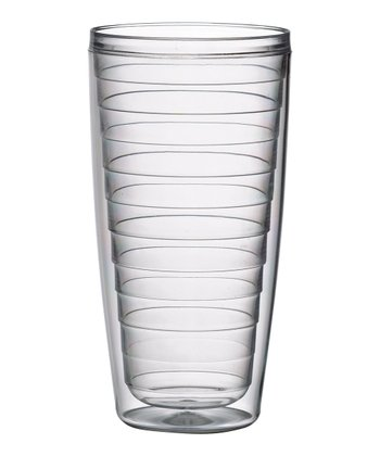 Clear 24-Oz. Insulated Tumbler - Set of Four