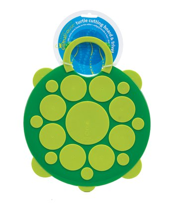 Turtle Reversible Cutting Board/Trivet