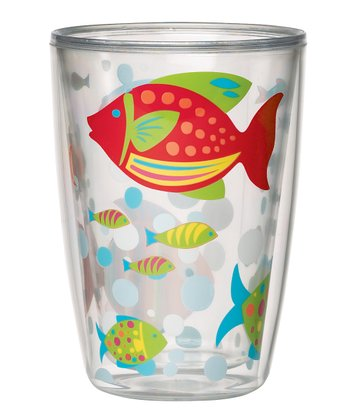 Go Fish 16-Oz. Insulated Tumbler - Set of Four