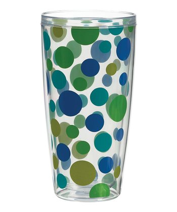 Cool Polka Dot 24-Oz. Tumbler - Set of Four
