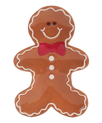 Boston Warehouse Sugar & Spice Gingerbread Man Spoon Rest
