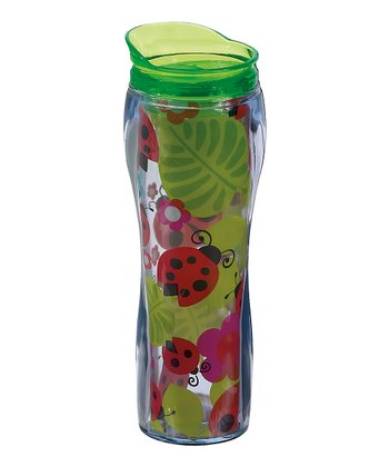 Ladybug 14-Oz. Insulated Travel Mug