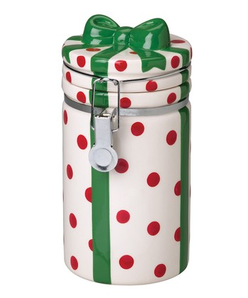 Boston Warehouse Gift Box Hinged Jar