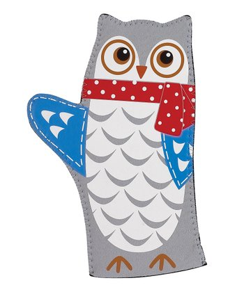 Boston Warehouse Snowy Owl Oven Mitt