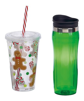 Boston Warehouse Sugar & Spice Hot & Cold Hydration Set