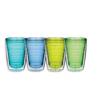 Cool Colors 16-Oz. Insulated Tumbler Set