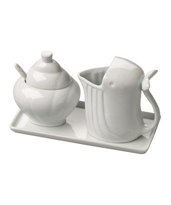 Whale Zoology Cream & Sugar Set