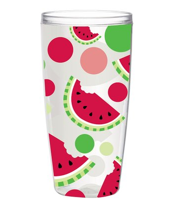 Watermelon 24-Oz. Insulated Tumbler - Set of Four