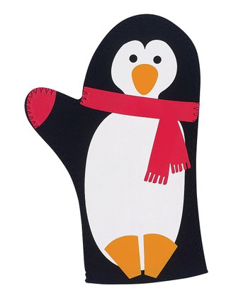 Penguin Party Oven Mitt