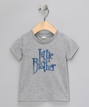 Gray 'Little Brother' Tee - Infant, Toddler & Boys