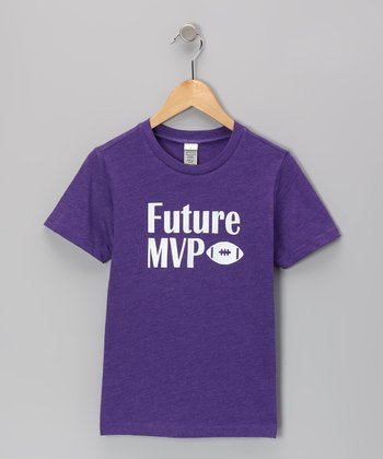 Purple 'Future MVP' Tee - Infant, Toddler & Kids