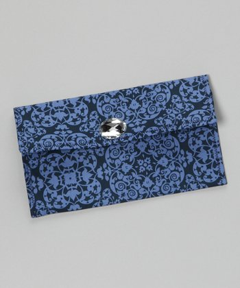 Blue Midnight Dream Diaper Clutch