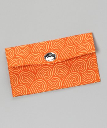 Orange Marmalade Diaper Clutch