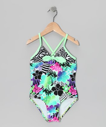Surfin' Safari Bow One-Piece
