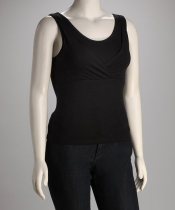 Black Too Cool Nursing Tank - Women