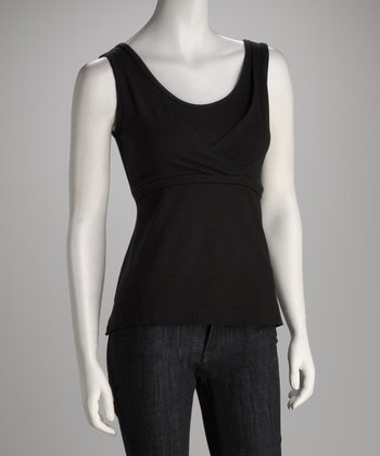 Black Mama Chic Nursing Tank - Plus