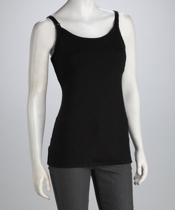 Black Nursing Camisole - Women