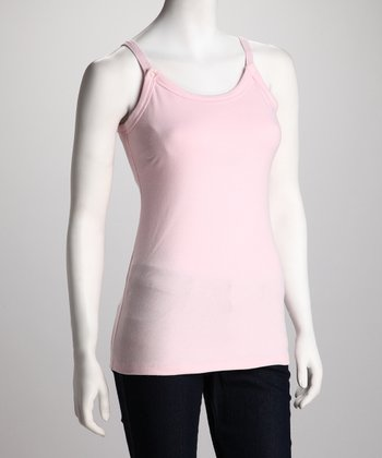 Breast is Best Pink Mama's Best Nursing Tank