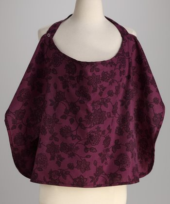 Purple Floral Mama's Best Nursing Cover