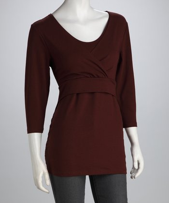 Chocolate Soho Nursing Top - Women