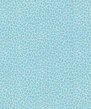 Brewster Home Fashions Aqua Cheetah Wallpaper