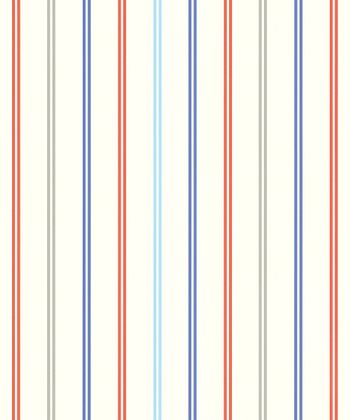 Bold Multicolor Stripes Wallpaper