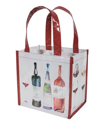 Wine Bottle Tote - Set of Two