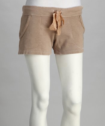 Café Fleece Shorts