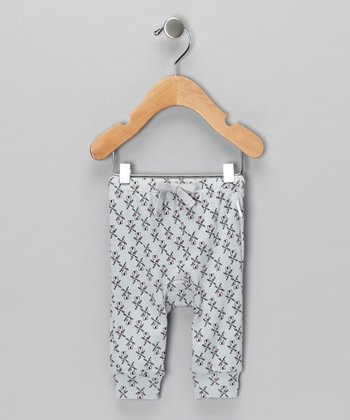 Gray Windmill Organic Pants - Infant